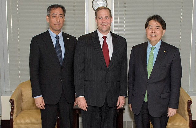 JAXA President Meets with NASA Administrator and ROSCOSMOS General Director