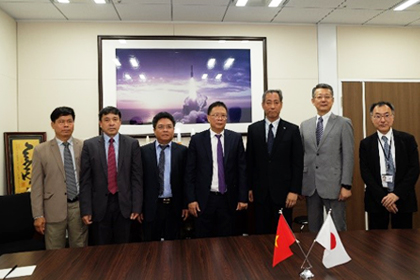 Revision of the Cooperation Agreement between the Japan Aerospace Exploration Agency (JAXA) and the Vietnam Academy of Science & Technology (VAST) Concerning Space Development and Application.