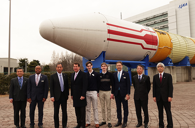 H.E. Mr. William F. Hagerty, U.S. Ambassador to Japan, visited Tsukuba Space Center