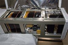 CubeSat deployment from Kibo