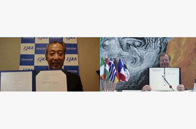 Bilateral meeting between JAXA and ESA