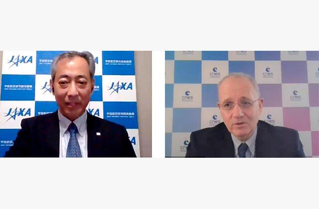 Bilateral meeting between JAXA and CNES