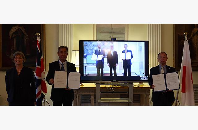 JAXA and United Kingdom Space Agency (UKSA) Sign Memorandum of Cooperation