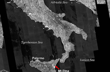Sicily and Mt. Etna