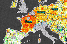 The European Continent Is Drying Up
