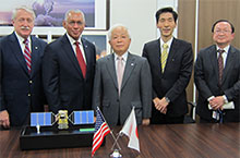 JAXA, NIES, MOE and NASA signed a Memorandum of Understanding  for cooperation on GOSAT, OCO-2 and GOSAT-2 missions