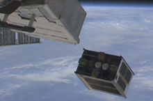 Successful Deployment of DIWATA-1, First Microsatellite developed by the Republic of the Philippines, from ISS Kibo