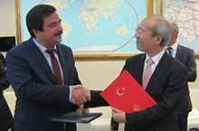 JAXA and the MTMAC, Republic of Turkey sign a Cooperation Agreement