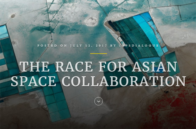 """The Race for Asian Space Collaboration"" by Yasushi Horikawa"