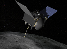 OSIRIS-REx (courtesy of NASA/Goddard/University of Arizona)