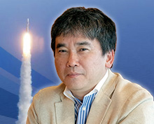 "Jin Mayama, Novelist ""Space Is No Longer Just a Dream"""