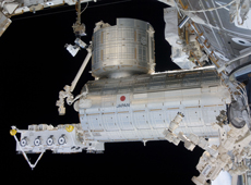 Japanese Experiment Module Kibo (courtesy of JAXA/NASA)