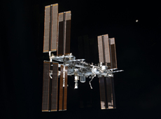 International Space Station (courtesy of JAXA/NASA)