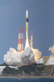 """Himawari-8"" lifted off for space! Launch Success of H-IIA F25."