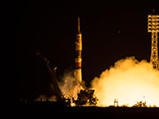 Astronaut Yui lifts off for space! Soyuz launched from Baikonur Cosmodrome