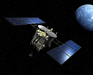 Hayabusa2 set for Earth swing-by! Your support messages welcomed.