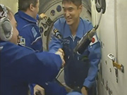 Astronaut Onishi began his long-term stay at ISS