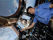 Astronaut Onishi returning to Earth on Oct. 30 (JST)!