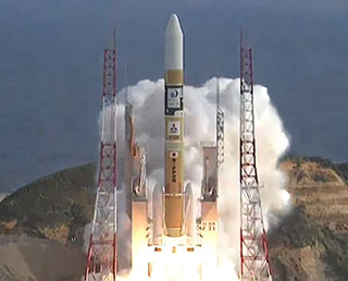 """Himawari-9"" lifted off for space! Launch Success of H-IIA F31."