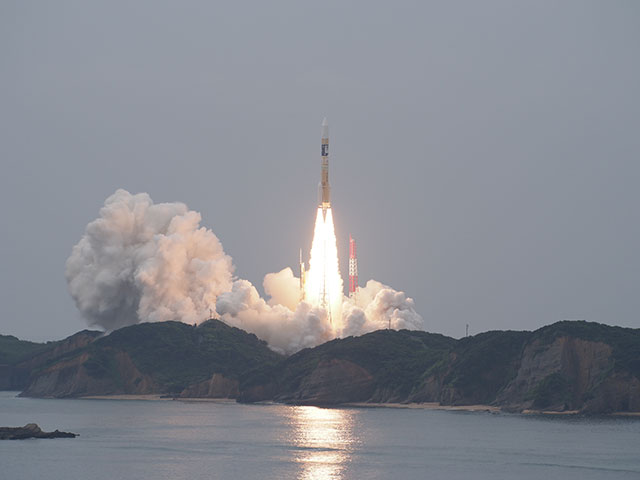 Success of H-IIA F34 Launch with MICHIBIKI-2 Aboard