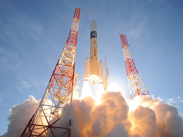 Successful Launch, H-IIA Launch Vehicle No. 37 Encapsulating SHIKISAI and TSUBAME