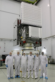 GPM core observatory revealed to the media