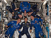 Astronaut Wakata returning to Earth!