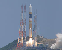 Successful launch of H-IIA F 24 with DAICHI-2 (ALOS-2)!