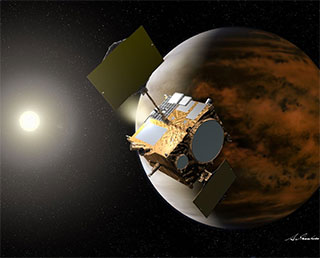 AKATSUKI to be re-injected into Venus orbit on Dec. 7