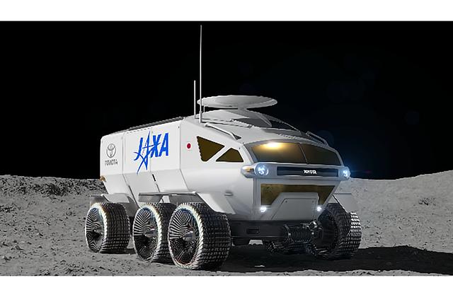 Japonská vesmírná agentura a Toyota vyrobí prototyp velkého lunárního roveru pro posádku
