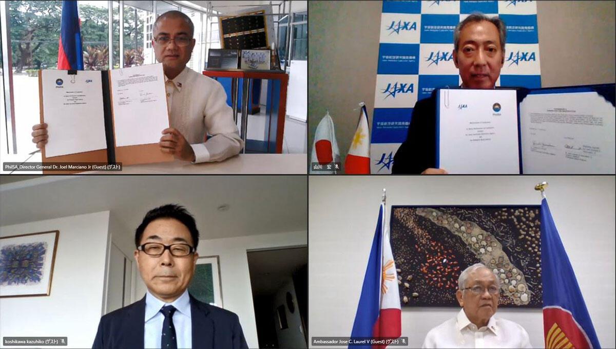 JAXA and Philippine Space Agency (PhilSA) Sign Memorandum of Cooperation