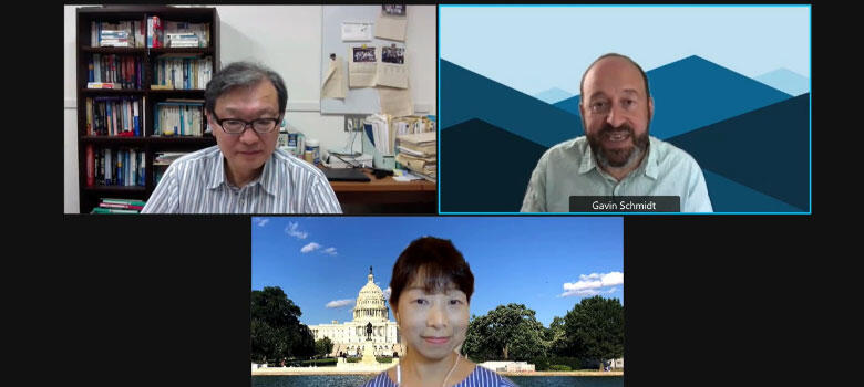 """""""JAXA-NASA Cooperation in Addressing the Climate Challenge"""" (Webinar) now viewable on YouTube"""