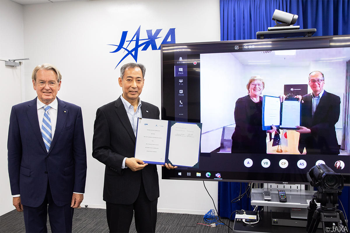 JAXA and ASA Sign Memorandum of Cooperation (MOC)