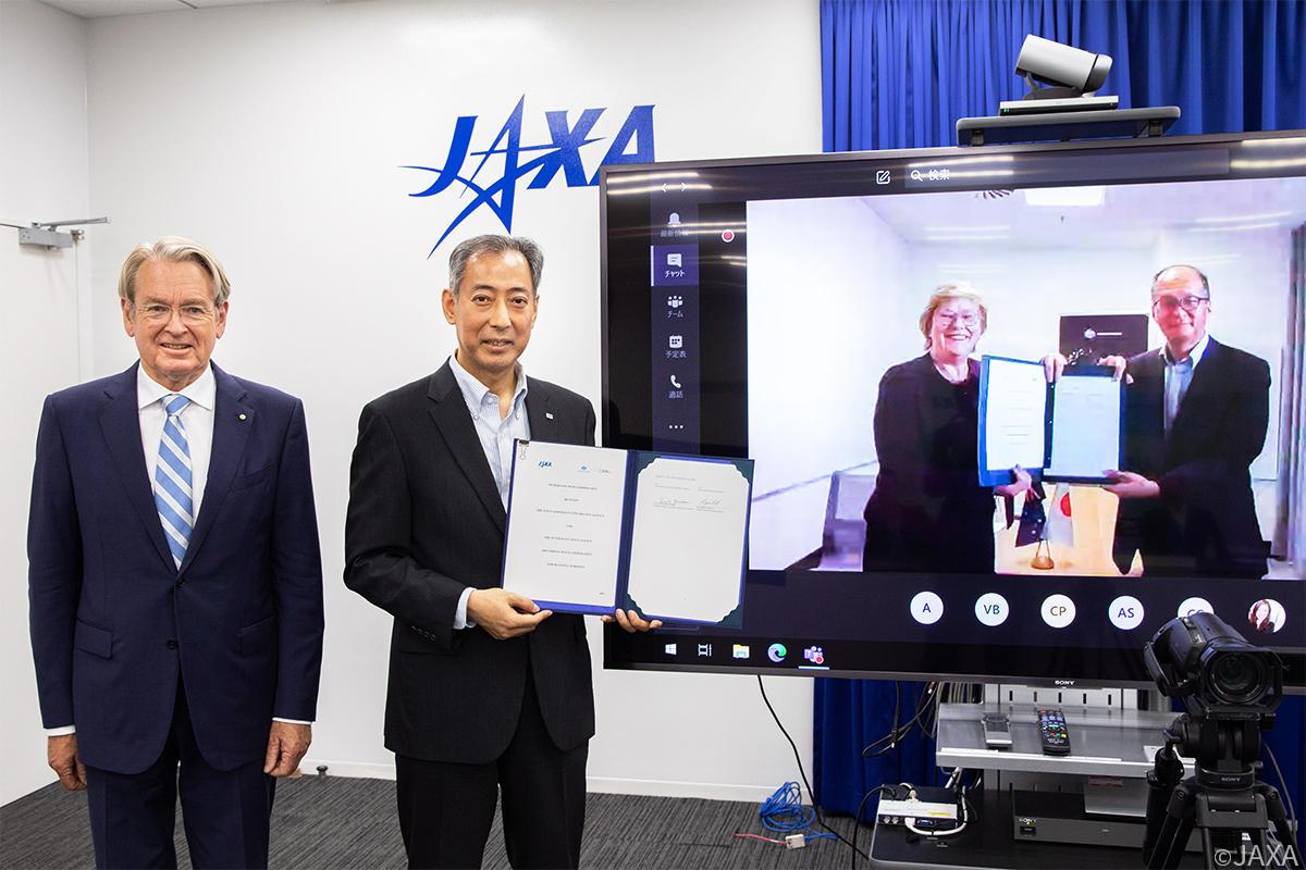 JAXA and ASA Sign Memorandum of Cooperation (MOC)