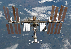 "International Space Station (ISS) and Japanese Experiment Module ""Kibo"""