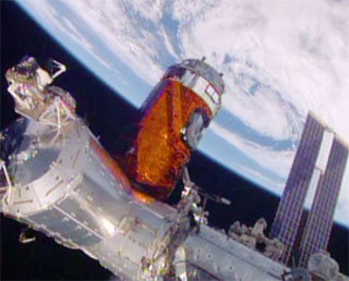 KOUNOTORI5 captured and berthed at the ISS