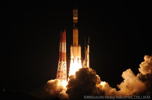 KOUNOTORI8/H-IIB F8 Successfully Launched