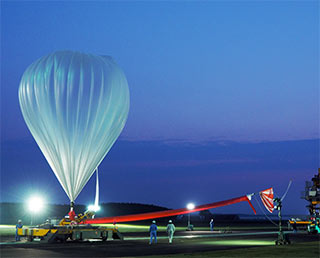 Scientific balloon experiment B16-02 to capture microorganisms in the stratosphere