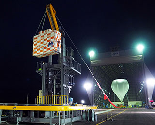 Scientific balloon B16-01 experiment completed - High altitude flight test for Mars probe airplane