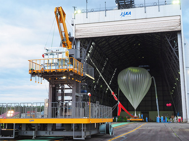 B17-02 Scientific Balloon Test