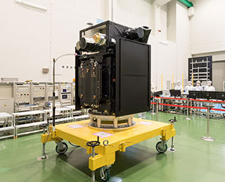 "Geospace satellite ""ERG"" released to the media"