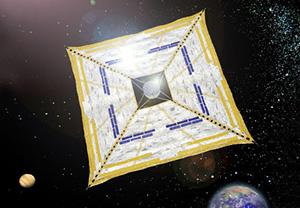 "Small Solar Power Sail Demonstrator ""IKAROS"""