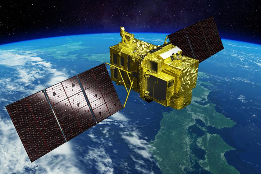 JAXA Advanced Optical Satellite ALOS - Google satellite images