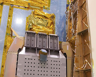 Soft Gamma-ray Detectors (SGDs) installation on ASTRO-H completed