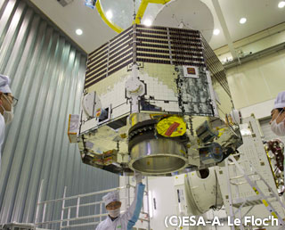Mercury Magnetosphere Orbiter arrived at European Space Research and Technology Center