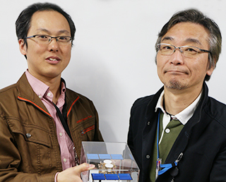 Baton pass to new Hayabusa2 project manager