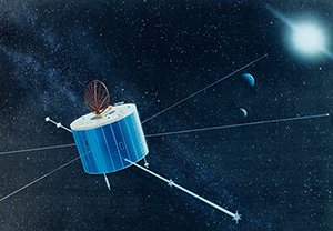 Magnetospheric Observation Satellite (GEOTAIL)