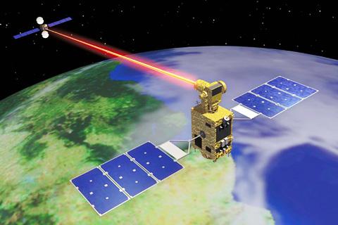 JAXA Optical Interorbit Communications Engineering Test - Satelite image