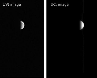 Test image acquisition by AKATSUKI onboard cameras (on Dec. 1, 2015)