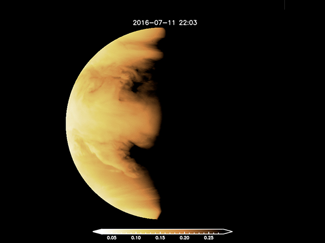 Venus: Jet-setting atmosphere